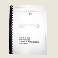 Catalogue de pièces détachées Aro M461