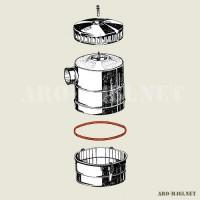O ring air cleaner Aro M461