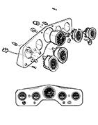 Tableau de bord Aro M461 - 58