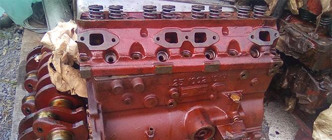 Aro L25 Motorblock, Aro L25 Kurbelwellen, Aro L25 Zylinderköpfe