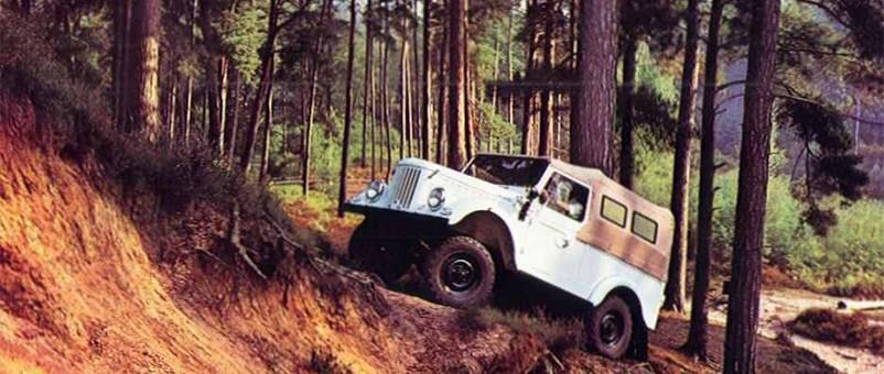 Le Aro M461, de part sa conception, est un véhicule rustique mais robuste et utile